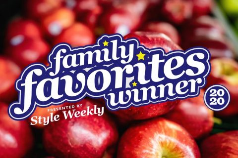 Style Weekly Family Favorites Award Winner