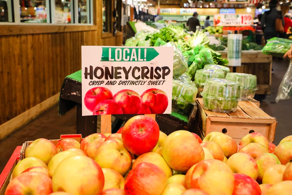 Local Honey Crisp Apples
