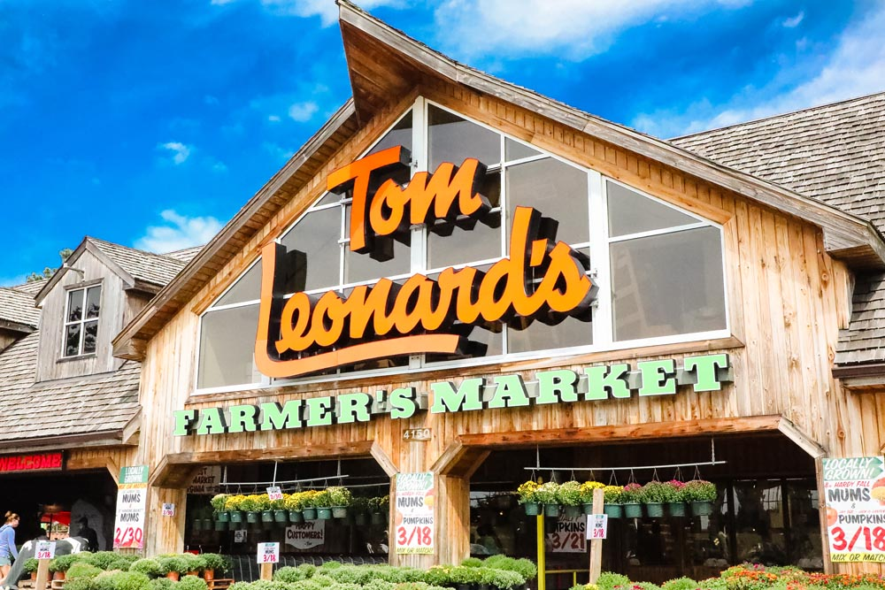 Welcome to Tom Leonard's Farmer's Market