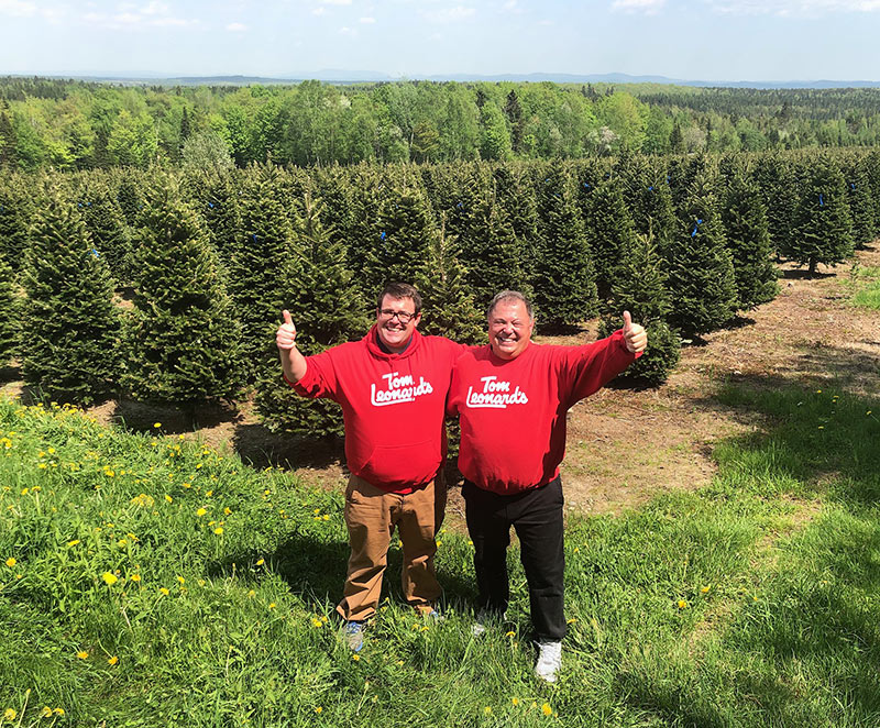 Visiting the Christmas Tree Farm