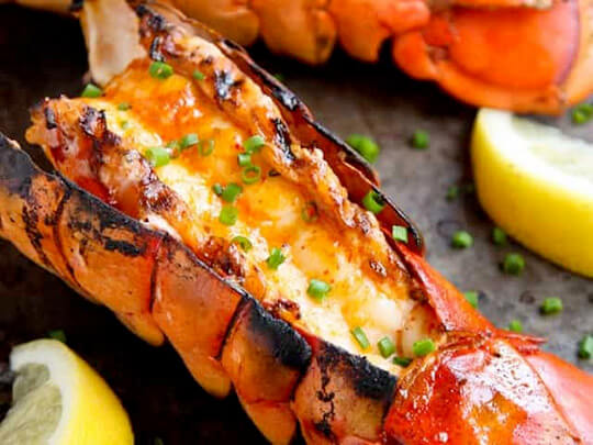 Tom's Easy Lobster Tails