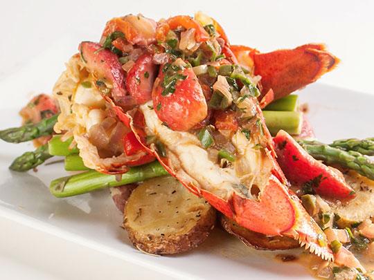 lobster strawberries