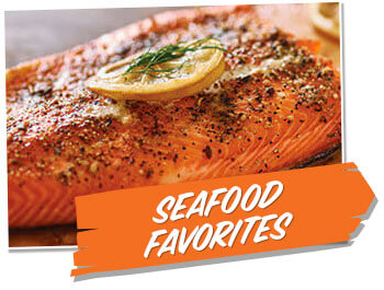 Seafood Favorites Recipes
