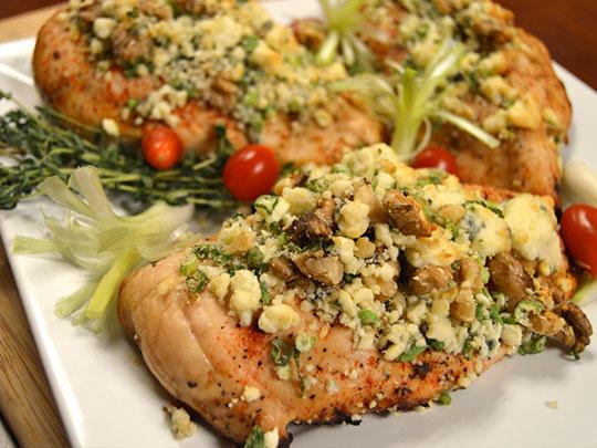 chef chaz chicken gorgonzola