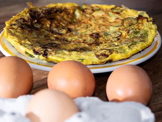 Stew's Favorite Egg White & Vegetable Omelet