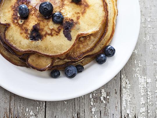honey buttermilk pancakes