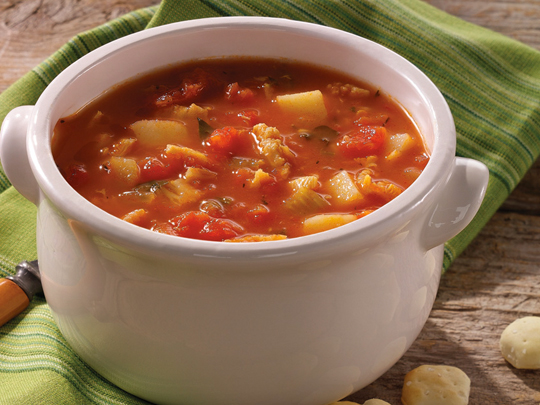Stew's Manhattan Clam Chowder