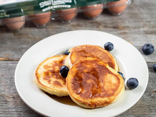 Mrs. Leonard's Honey Buttermilk Pancakes