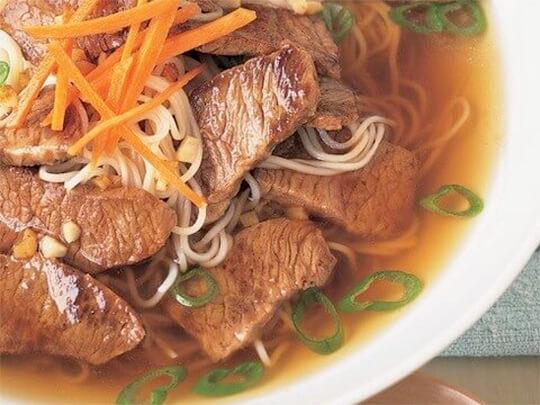 steak noodle bowl